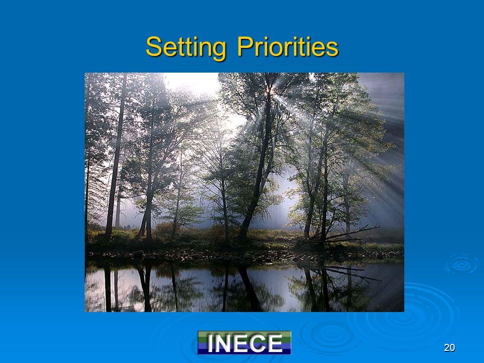 20 Setting Priorities