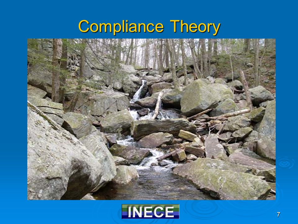 8 Regulated Facilities  Less Degree of Compliance More  Creating an Atmosphere Favoring Compliance Noncompliant Compliant Impressionable