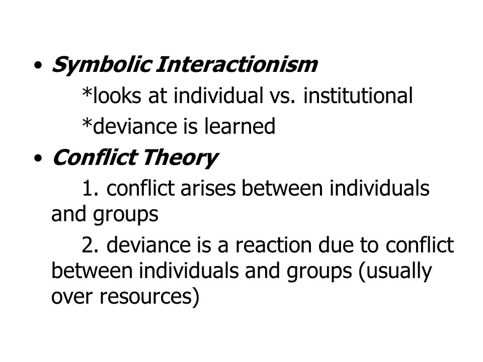 Constructionism is the blending of labeling and conflict theories.