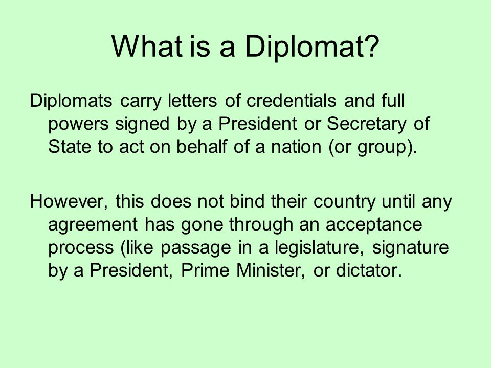 Uses of Diplomacy The most common uses of diplomacy in counterterrorism include: 1.Developing bilateral or multilateral anti-terrorist policies.