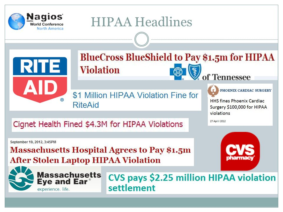 HIPAA Headlines
