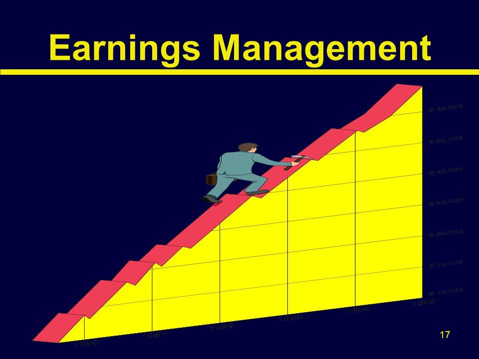 17 Earnings Management