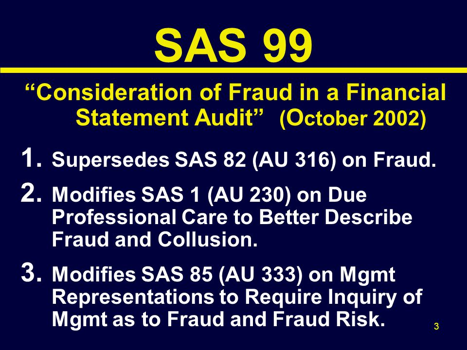 34 Responding to Fraud Risks Management Override (con't) Consider Testing: Adjusting Journal Entries Other Adjustments to F.S.
