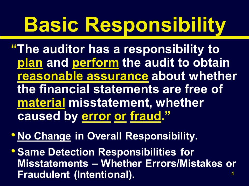 35 Updating Fraud Risk Assessment Must Be Done Throughout the Audit, for: Discrepancies in Accounting Records Missing Audit Evidence; No Originals Altered Documents/Records Subsidiary/Control A/C Differences