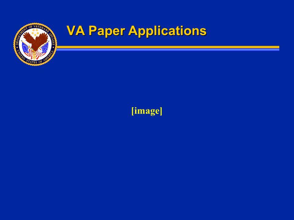VA Paper Applications [image]