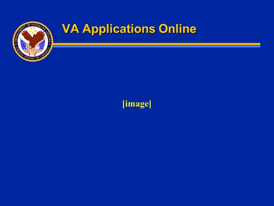 VA Applications Online [image]