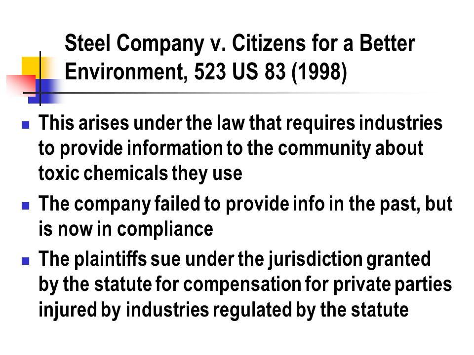 Steel Company v.