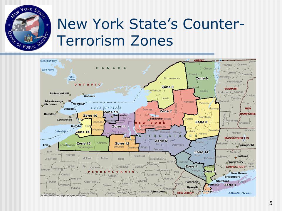 5 New York State's Counter- Terrorism Zones