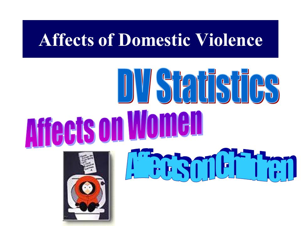 Affects of Domestic Violence