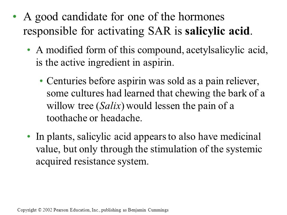 A good candidate for one of the hormones responsible for activating SAR is salicylic acid.