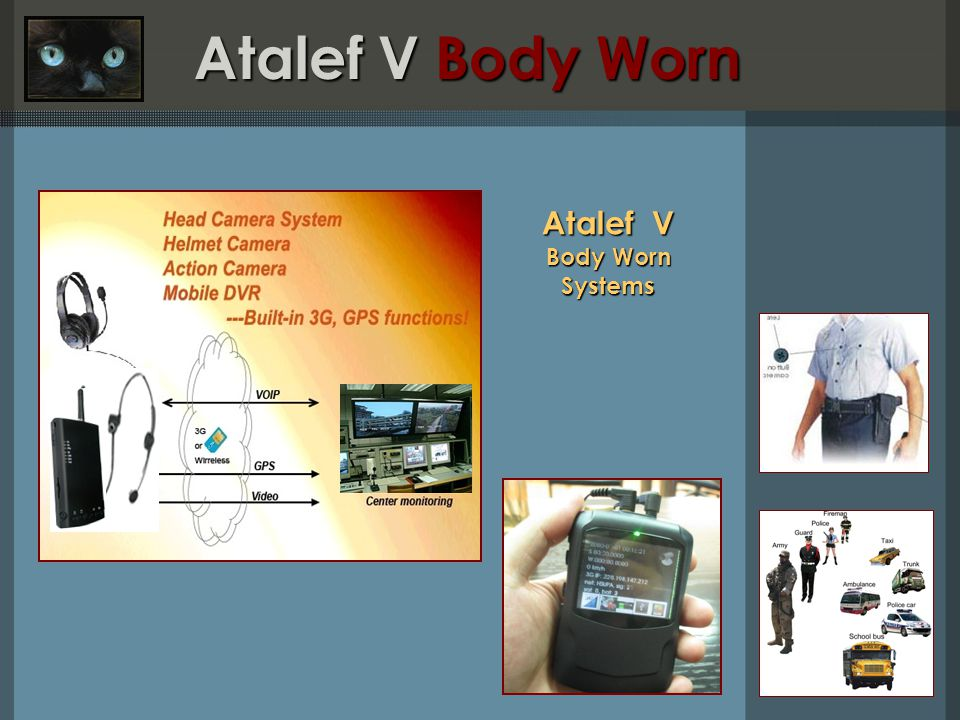 Atalef V Body Worn Systems