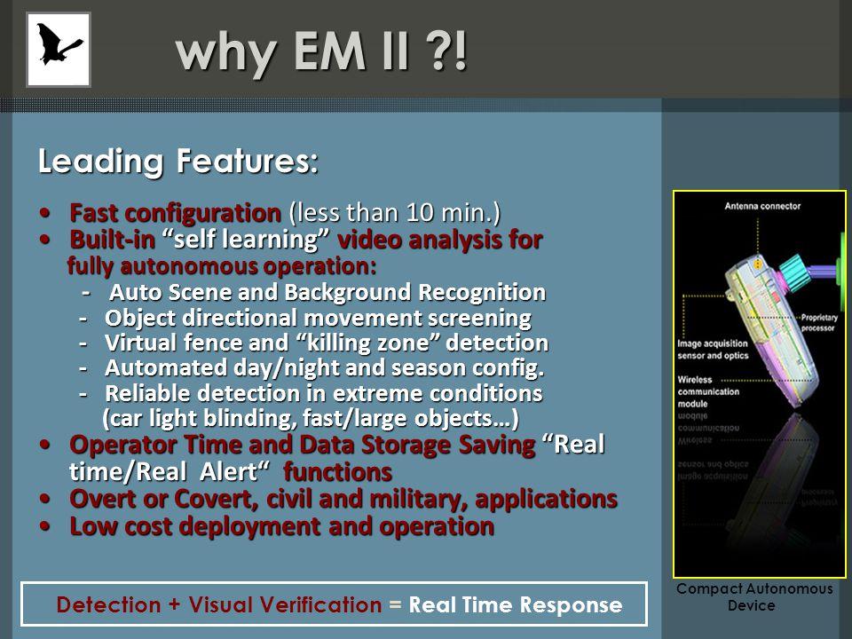 why EM II . why EM II .
