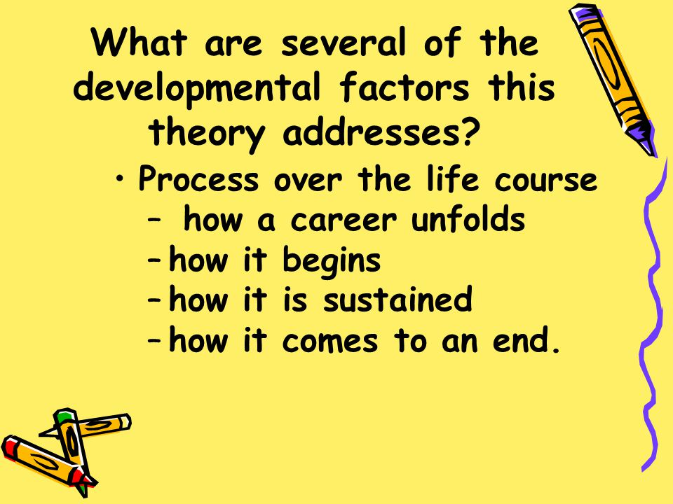 Developmental Theories Discuss the two distinct developmental viewpoints of life-course and latent trait theories.