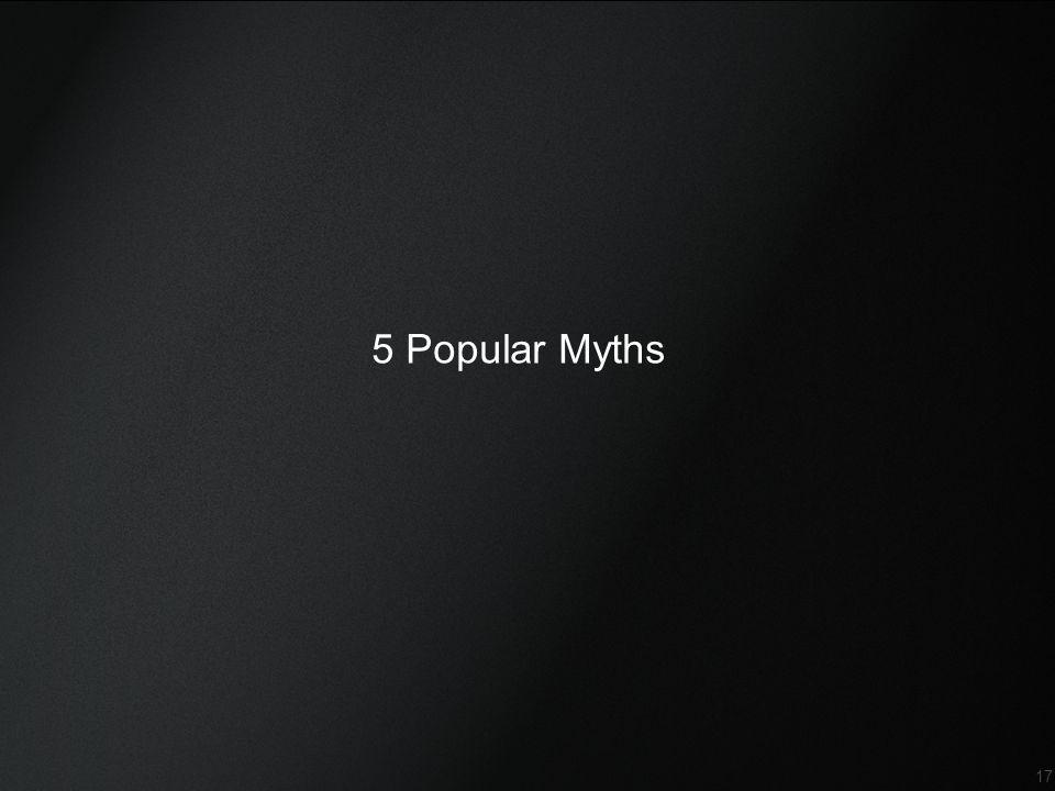 Confidential 17 5 Popular Myths