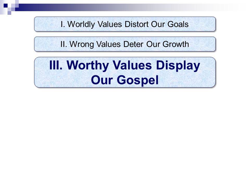 1.Faith in God that produces self- denial, Hb.11:6, 24-25 Mt.4:18-20; Ac.20:24 Mt.13:44-46.