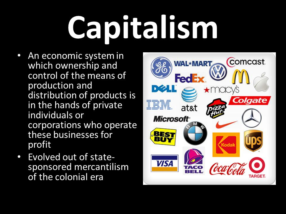 th century economics capitalism an economic system in which  2 capitalism an economic system