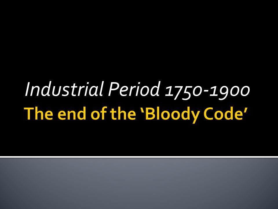 Industrial Period 1750-1900