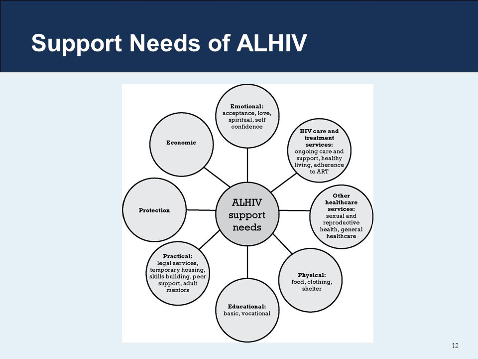 12 Support Needs of ALHIV