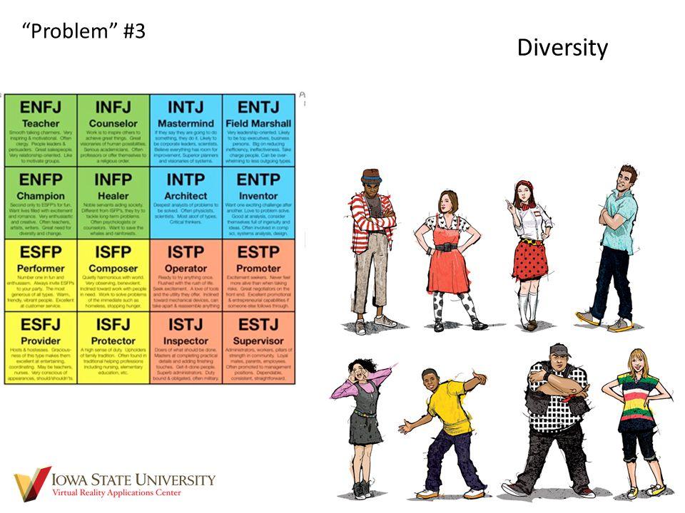 "Diversity ""Problem"" #3"