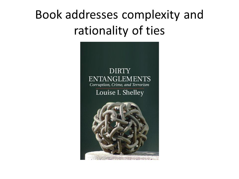 Book addresses complexity and rationality of ties