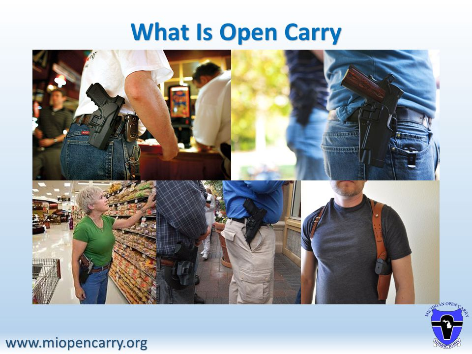 What Is Open Carry www.miopencarry.org