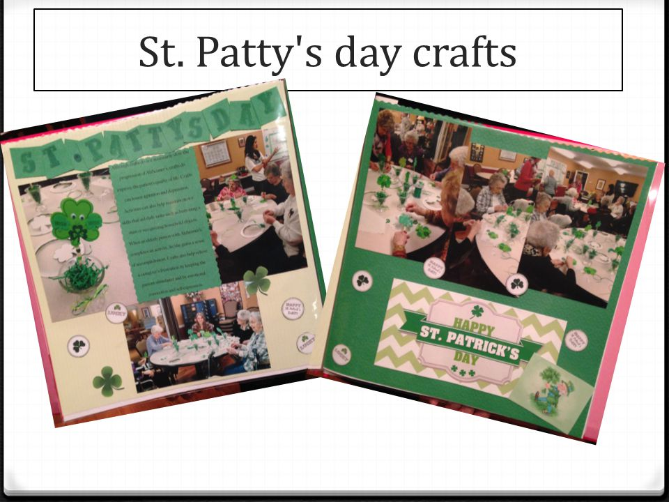 St. Patty s day crafts
