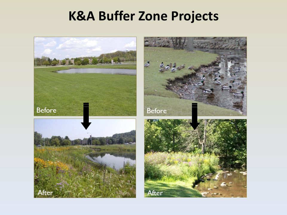 K&A Buffer Zone Projects Before After Before After