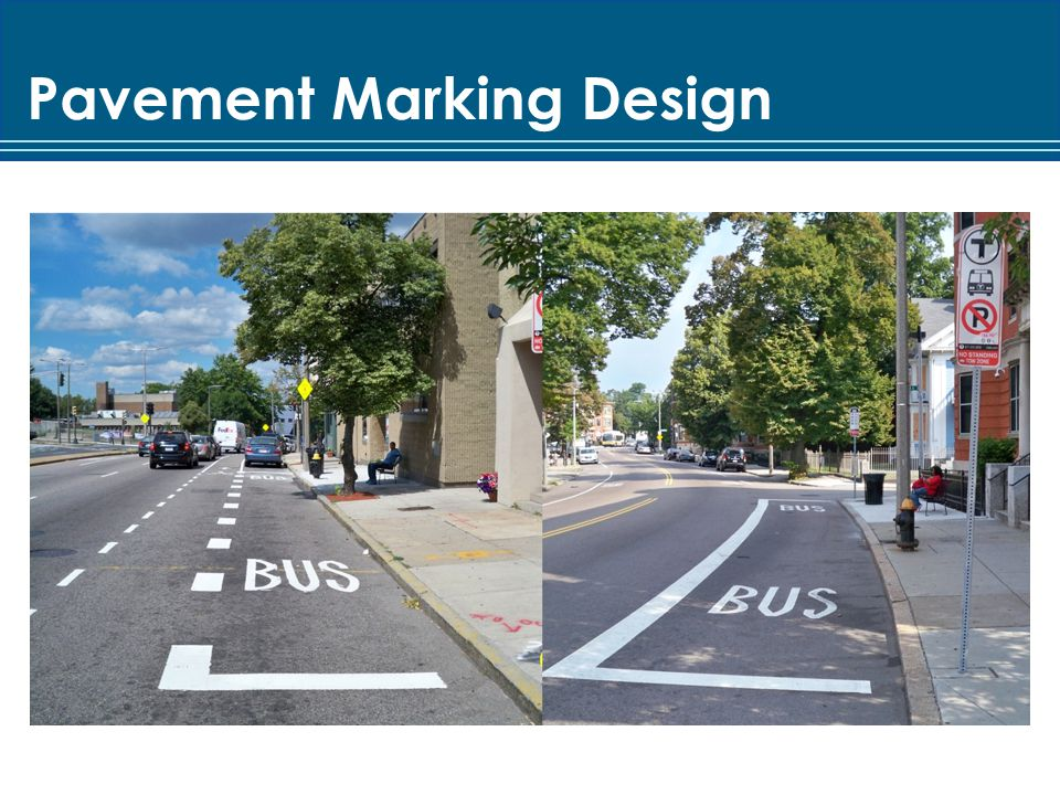 Pavement Marking Design