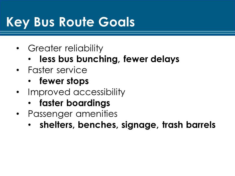 MBTA Key Bus Route Improvement Program The Project Planning Process Bus Stop Design Lessons Learned