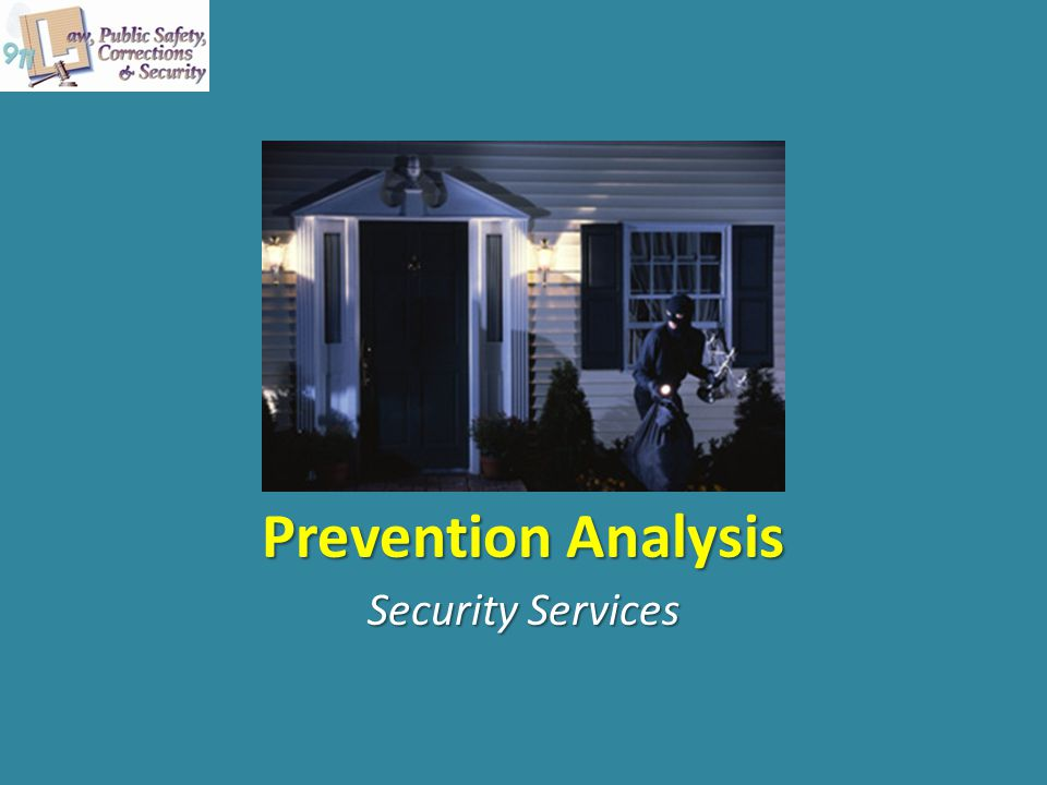 Prevention Analysis Security Services