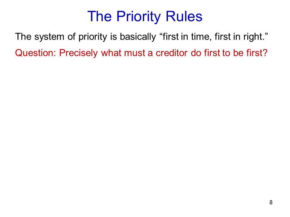 59 Purchase money priority PMSI §9-317(e).