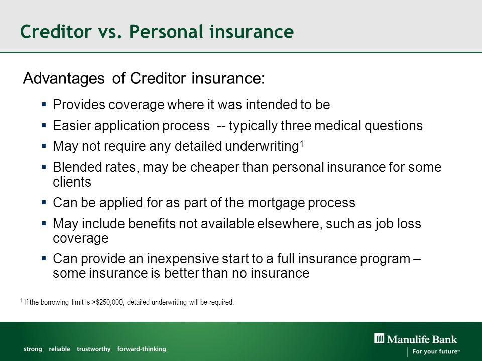 Creditor vs.