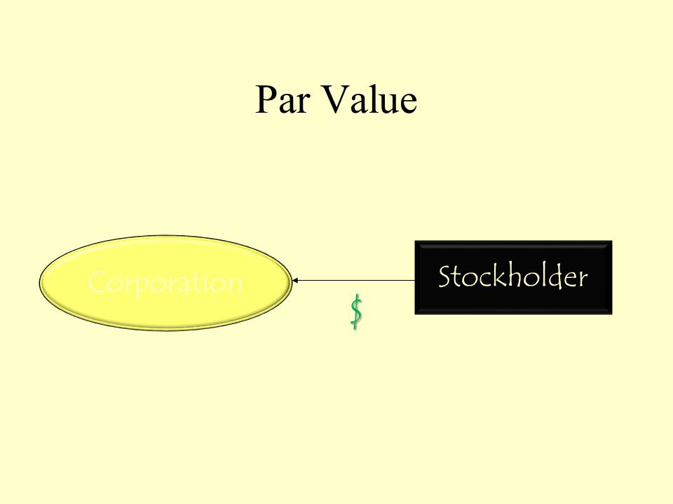 Par Value Corporation Stockholder $