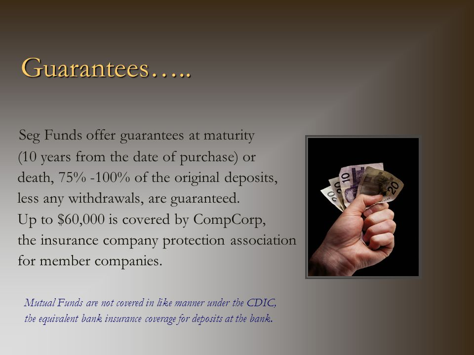 Guarantees…..