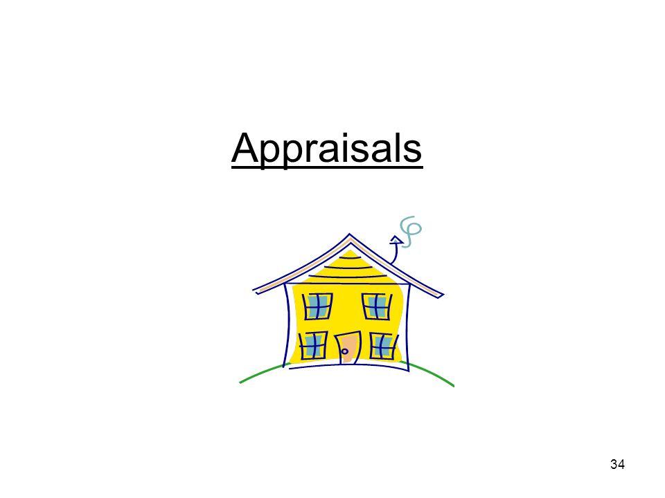34 Appraisals