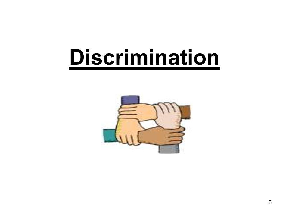 5 Discrimination