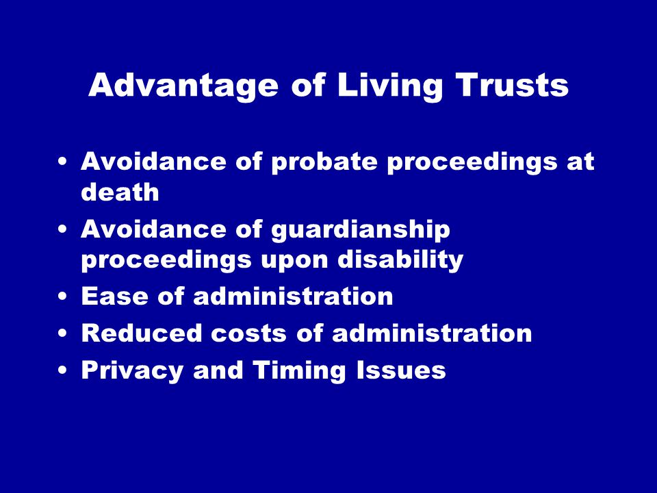 Charitable Remainder Trusts Variable (Unitrust) or Fixed Income (Annuity Trust) retained for life or term of years Charity receives assets upon expiration of life/term Income tax deduction based upon actuarial value of remainder
