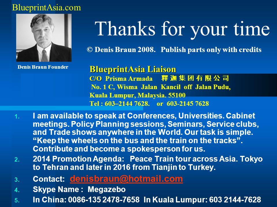 BlueprintAsia Liaison C/O BlueprintAsia Liaison C/O Prisma Armada 釋 迦 集 团 有 限 公 司 No. 1 C, Wisma Jalan Kancil off Jalan Pudu, Kuala Lumpur, Malaysia.