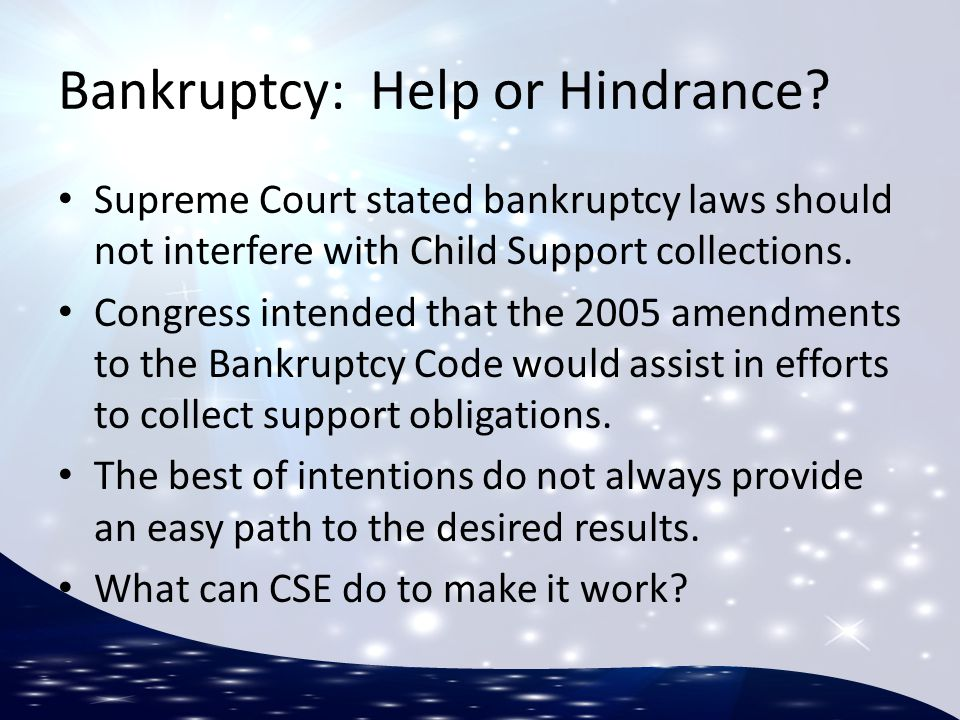 What should we do when we learn of a Bankruptcy filing.