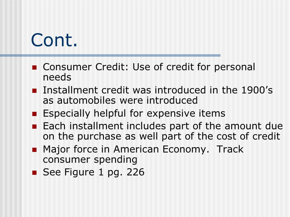 Section 8-3 Protecting Your Credit