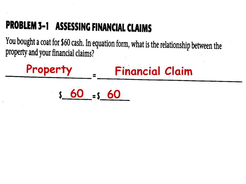 Property Financial Claim 60