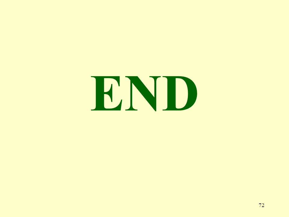 72 END