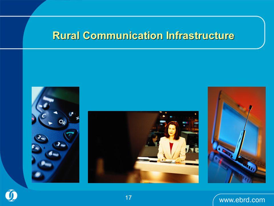 17 Rural Communication Infrastructure