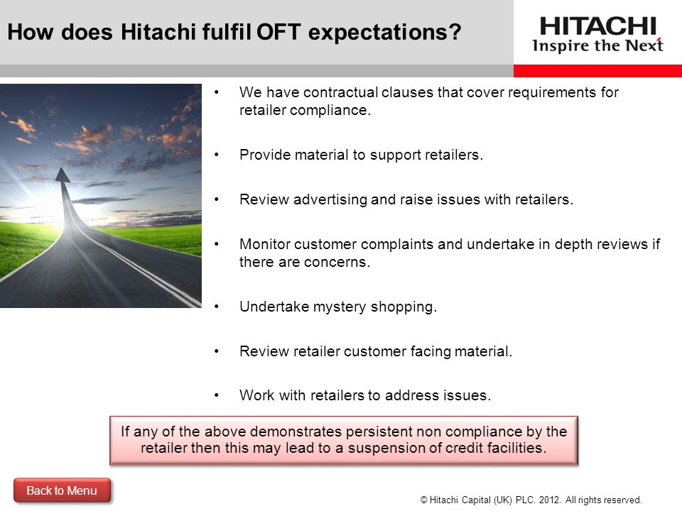 © Hitachi Capital (UK) PLC.2012. All rights reserved.