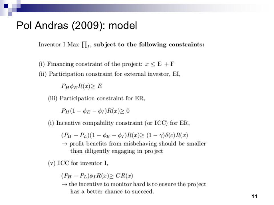 Pol Andras (2009): model 11