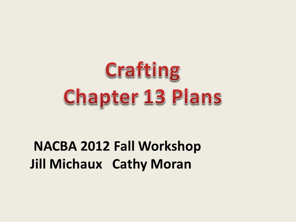 NACBA 2012 Fall Workshop Jill Michaux Cathy Moran