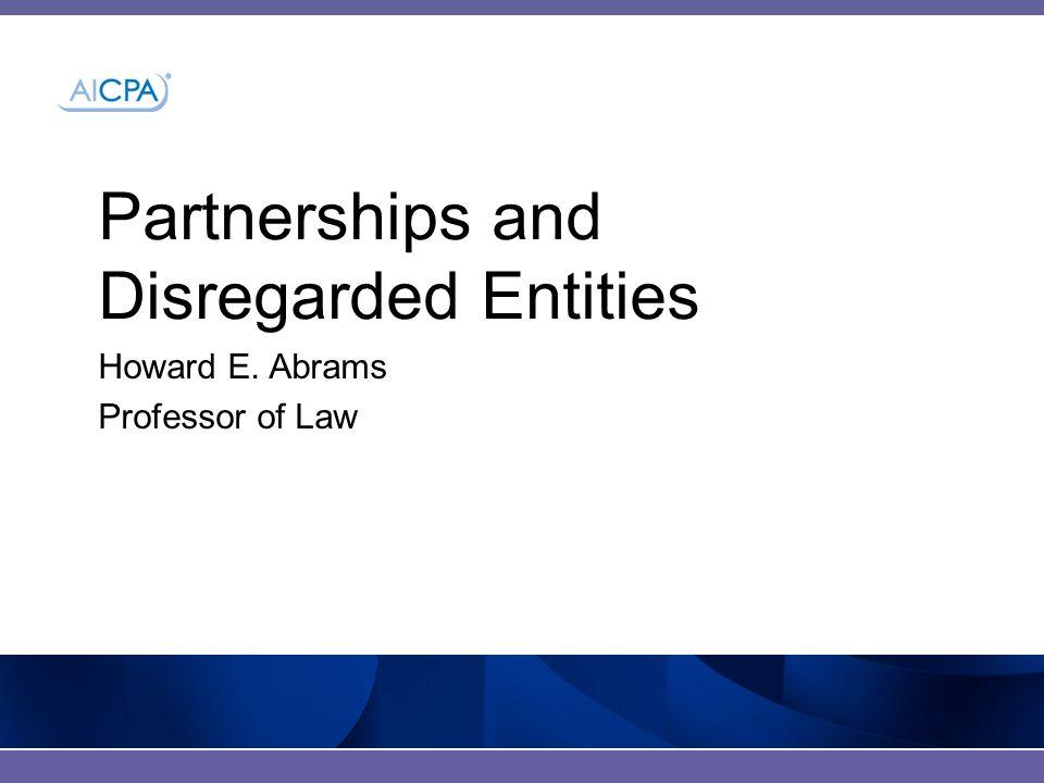 #AICPA_Banks Biography of Howard E.Abrams Howard E.