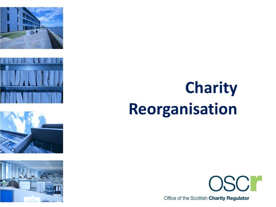 Charity Reorganisation