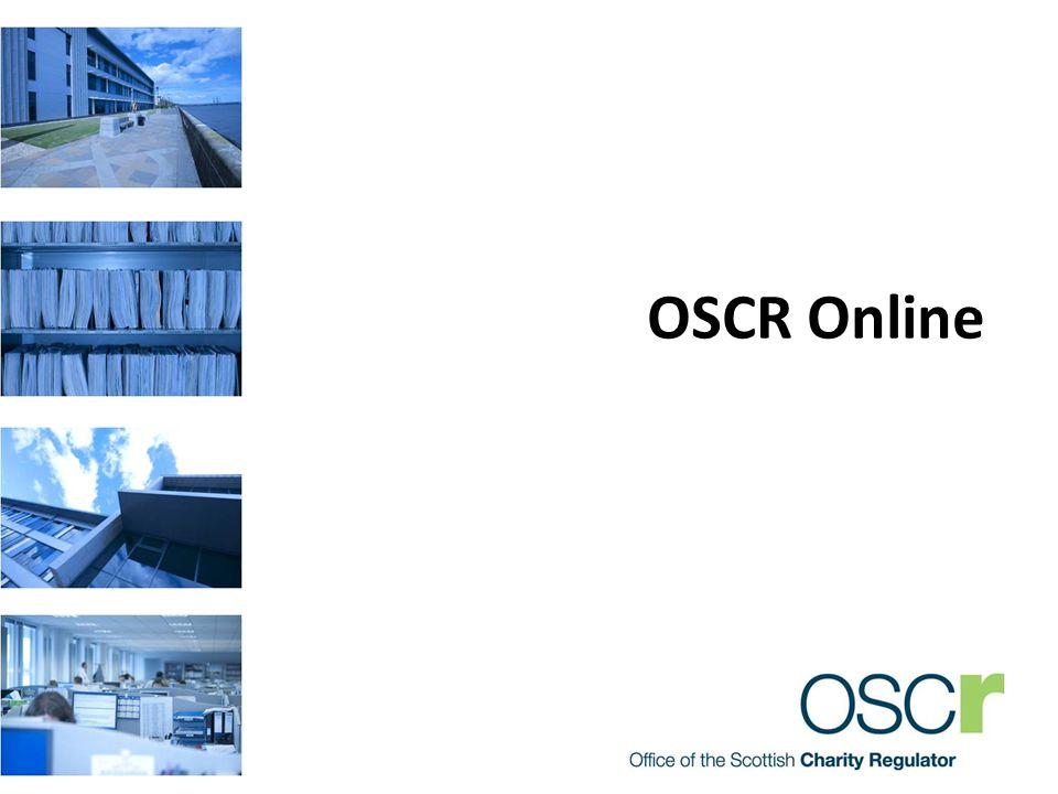 OSCR Online