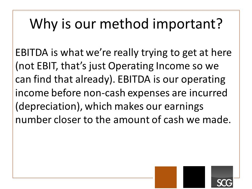 Why is our method important.